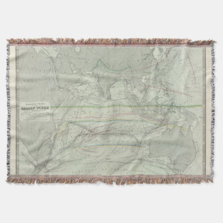 Indian Ocean 2 Throw Blanket