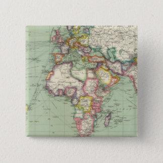 Indian Ocean, Atlantic Ocean 15 Cm Square Badge