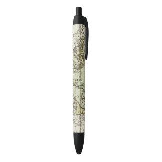 Indian Ocean Black Ink Pen
