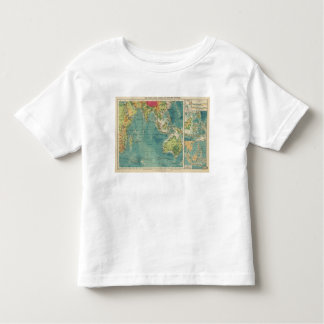 Indian Ocean cables, wireless stations Toddler T-Shirt