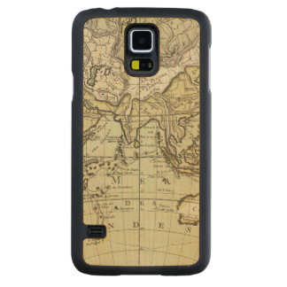 Indian Ocean Carved Maple Galaxy S5 Case