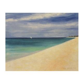 Indian Ocean II 1995 Wood Print