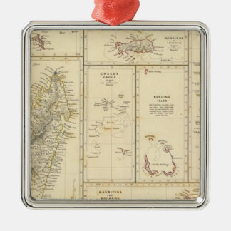 Indian Ocean Islands Christmas Ornament