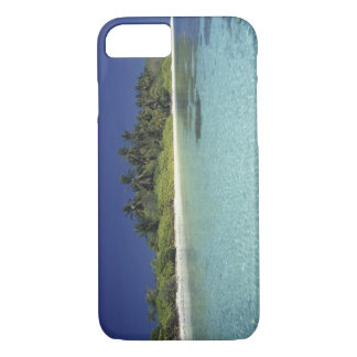 Indian Ocean, Maldive islands. (MR) iPhone 7 Case
