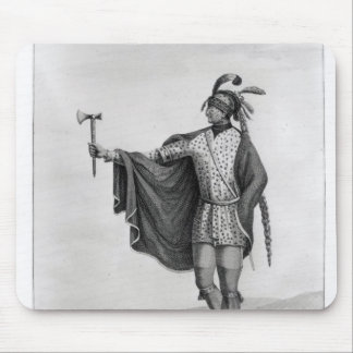 Indian of the Nation of Kaskaskia Mouse Pad