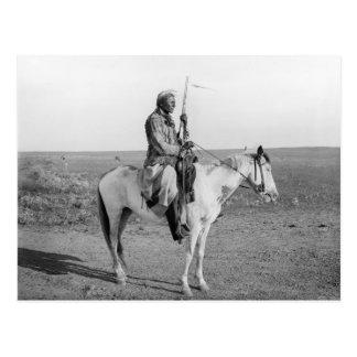 Indian on Horseback 1907 Postcards