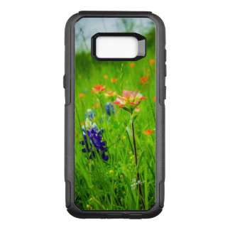 Indian Paintbrush and Bluebonnets Samsung Otterbox OtterBox Commuter Samsung Galaxy S8+ Case