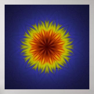 Indian Paintbrush Flower Print