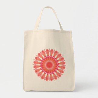 Indian Paintbrush Grocery Tote Bag