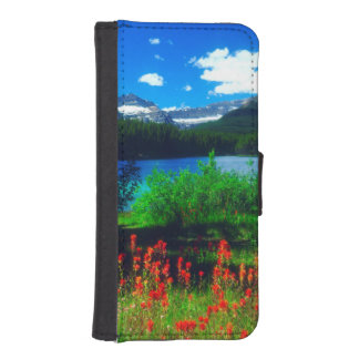Indian Paintbrush Wildflowers iPhone SE/5/5s Wallet Case