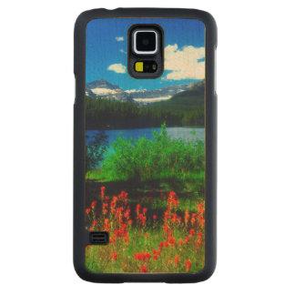 Indian Paintbrush Wildflowers Maple Galaxy S5 Slim Case