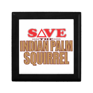 Indian Palm Squirrel Save Gift Box