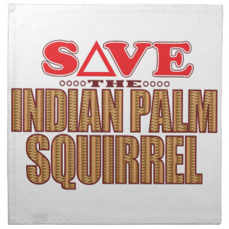 Indian Palm Squirrel Save Napkin