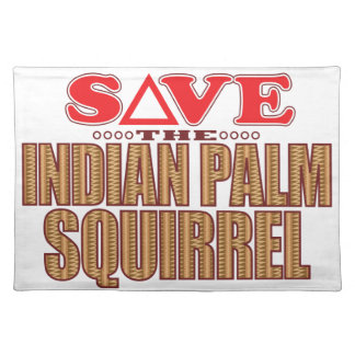 Indian Palm Squirrel Save Placemat