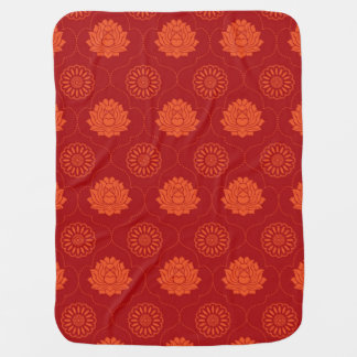 Indian Pattern Baby Blanket