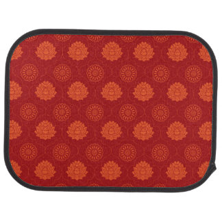 Indian Pattern Car Mat