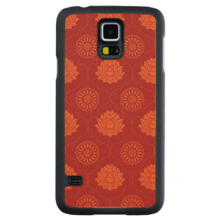 Indian Pattern Carved Maple Galaxy S5 Case