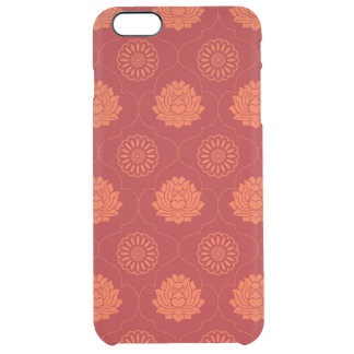 Indian Pattern Clear iPhone 6 Plus Case