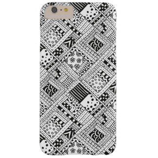 Indian Pattern Doodle Barely There iPhone 6 Plus Case