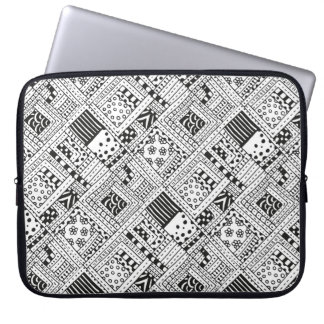 Indian Pattern Doodle Laptop Sleeve