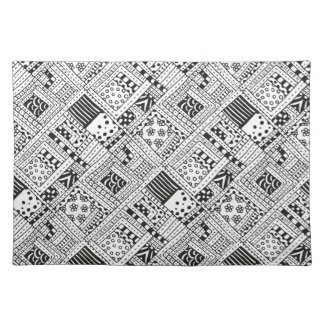 Indian Pattern Doodle Placemat