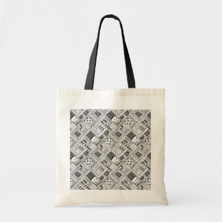 Indian Pattern Doodle Tote Bag