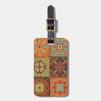 Indian Patterns Luggage Tag