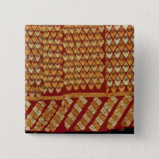 Indian Phulkeri embroidery 15 Cm Square Badge