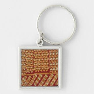 Indian Phulkeri embroidery Key Ring