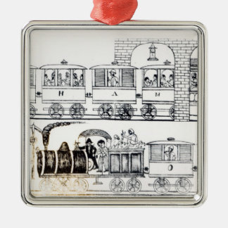 Indian Railway Christmas Ornament