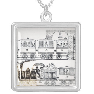 Indian Railway Silver Plated Necklace