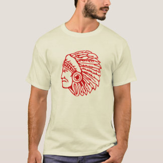 Indian Redskin Chief T-Shirt