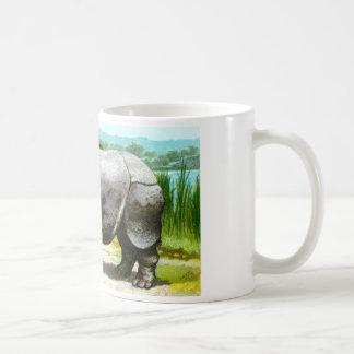 Indian Rhinoceros Coffee Mug
