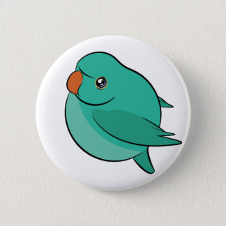 """Indian Ringneck Birble Button 2.25"""""""