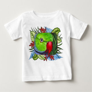 Indian Ringneck Parrot Baby T-Shirt