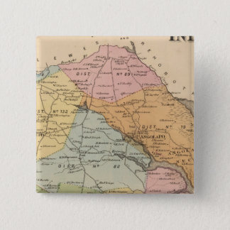Indian River 15 Cm Square Badge