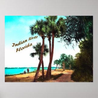 Indian River, Florida Poster