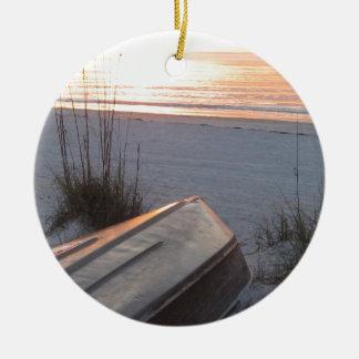 Indian Rocks Beach Scruggs Harbor Florida Christmas Ornament