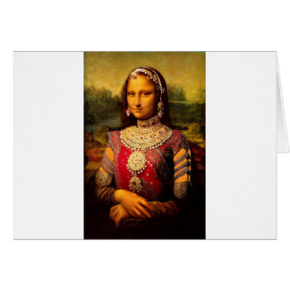 Indian Royal Monalisa Card