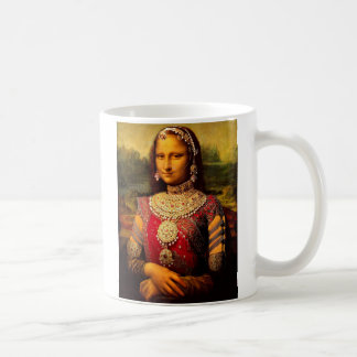Indian Royal Monalisa Coffee Mug