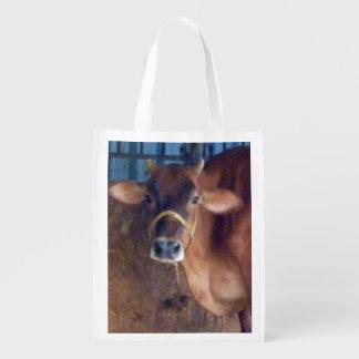 Indian Sacred Cow Reusable Grocery Bag