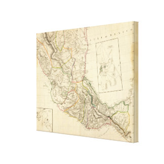 Indian Settlements in Mexico Gallery Wrapped Canvas