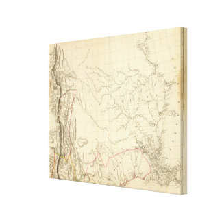 Indian Settlements in New Mexico Gallery Wrap Canvas