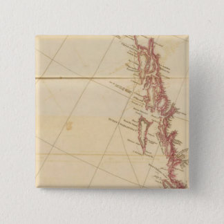 Indian Settlements in North America 15 Cm Square Badge
