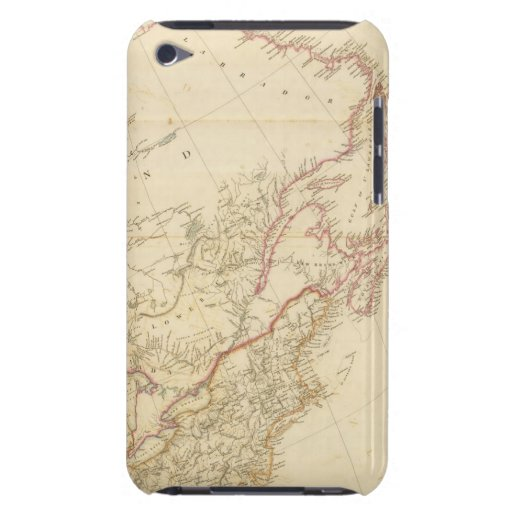 Indian Settlements in North America 2 Case-Mate iPod Touch Case