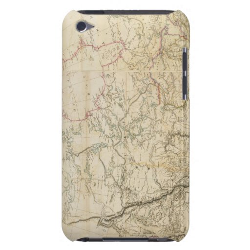 Indian Settlements in North America 2 Barely There iPod Covers