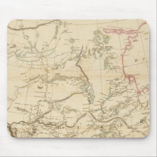Indian Settlements in North America Mouse Mat