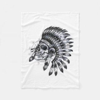 Indian Skull Blanket