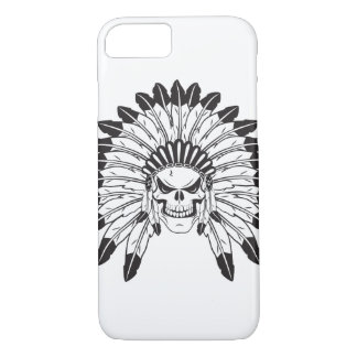 Indian Skull Chief iPhone 7 Case