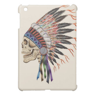 Indian Skull iPad mini case